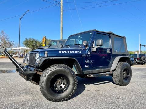 2005 Jeep Wrangler for sale at Blum's Auto Mart in Port Orange FL