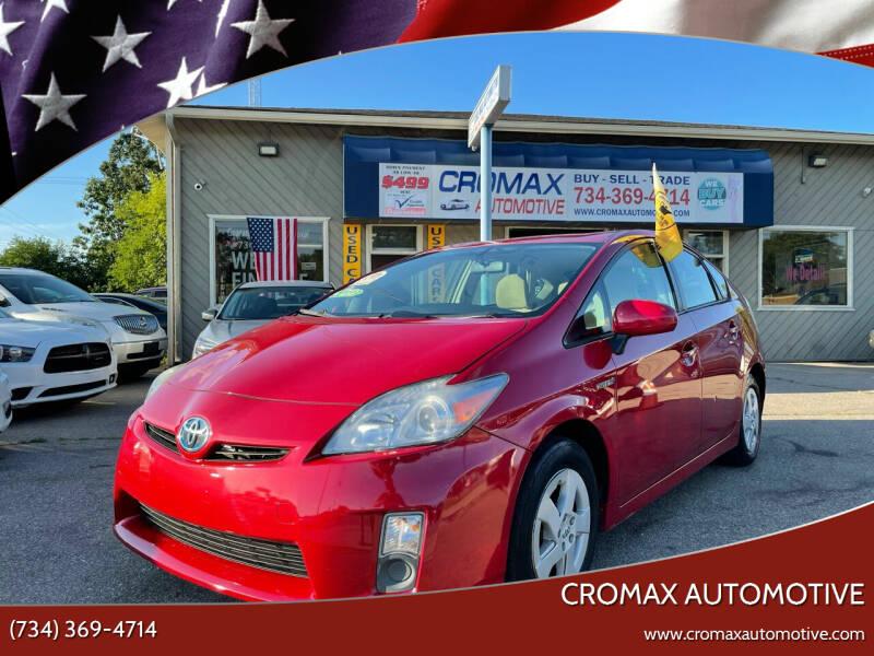 2010 Toyota Prius for sale at Cromax Automotive in Ann Arbor MI