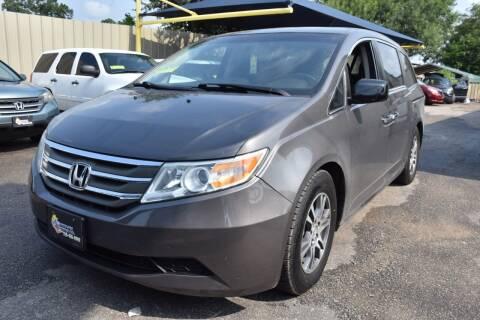 2011 Honda Odyssey for sale at Midtown Motor Company in San Antonio TX