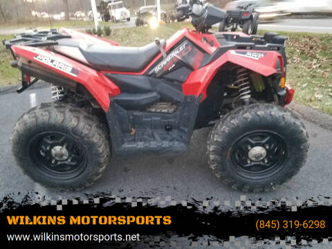 2015 Polaris Scrambler 850 XP for sale at WILKINS MOTORSPORTS in Brewster NY