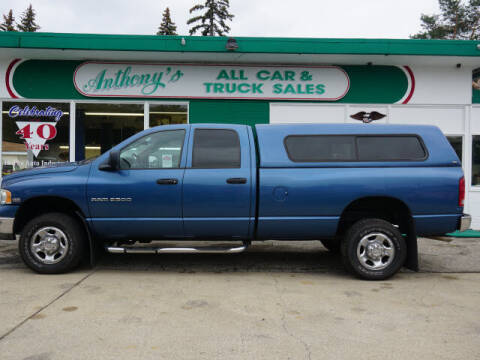 2003 Dodge Ram Pickup 2500 for sale at Anthony's All Cars & Truck Sales in Dearborn Heights MI
