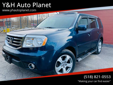 2012 Honda Pilot for sale at Y&H Auto Planet in West Sand Lake NY