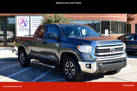 2014 Toyota Tundra for sale at Atlanta Cars and Trucks in Kennesaw GA