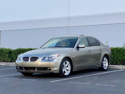 2006 BMW 5 Series for sale at Carfornia in San Jose CA