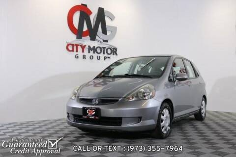 2008 Honda Fit for sale at City Motor Group, Inc. in Wanaque NJ
