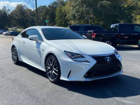 2015 Lexus RC 350 for sale at Luxury Auto Innovations in Flowery Branch GA
