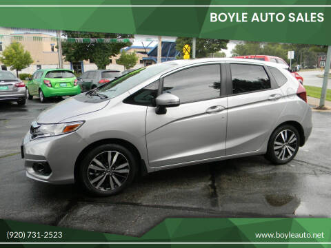 2018 Honda Fit for sale at Boyle Auto Sales in Appleton WI