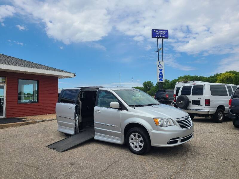 2012 Chrysler Town and Country for sale at Summit Auto & Cycle in Zumbrota MN