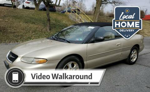 2000 Chrysler Sebring for sale at Penn American Motors LLC in Allentown PA