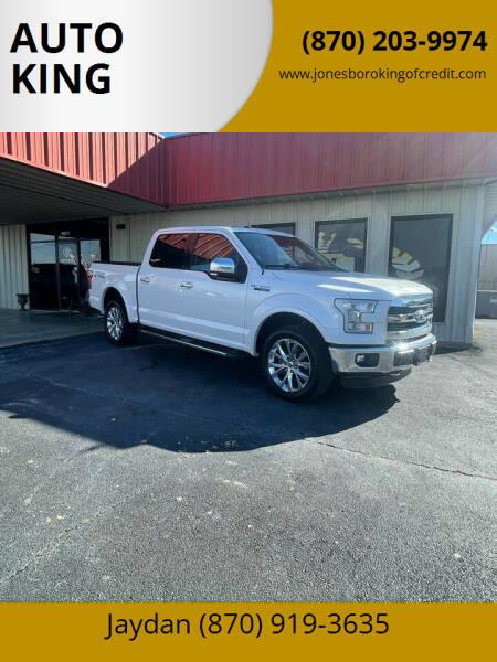 2016 Ford F-150 for sale at AUTO KING in Jonesboro AR