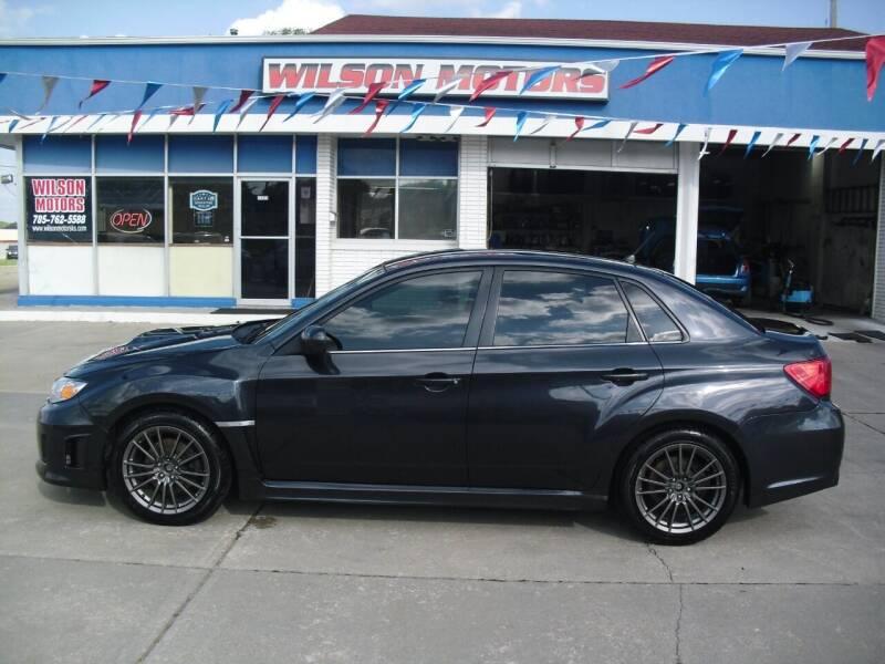 2013 Subaru Impreza for sale at Wilson Motors in Junction City KS