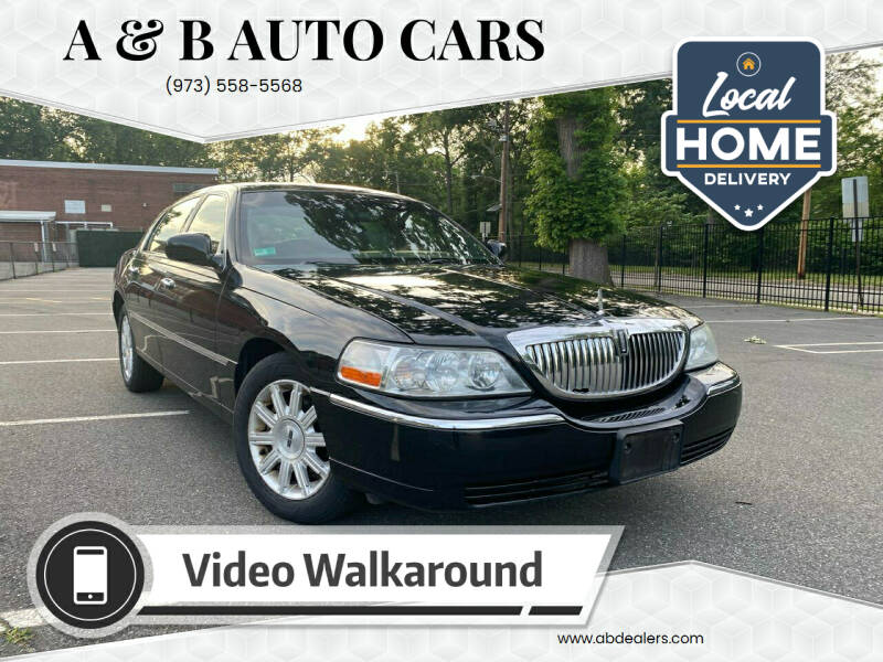 2008 Lincoln Town Car for sale at A & B Auto Cars in Newark NJ