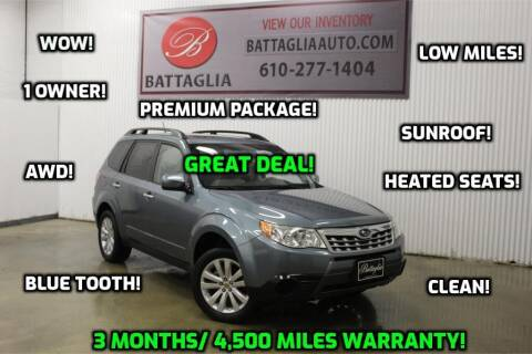 2011 Subaru Forester for sale at Battaglia Auto Sales in Plymouth Meeting PA