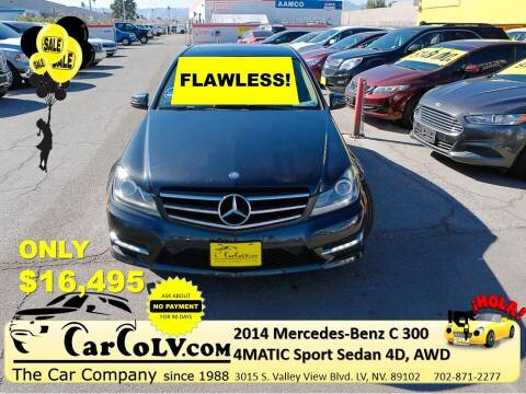 2014 Mercedes-Benz C-Class for sale at The Car Company in Las Vegas NV