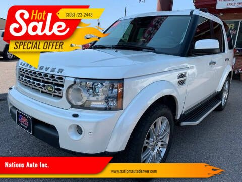 2010 Land Rover LR4 for sale at Nations Auto Inc. in Denver CO