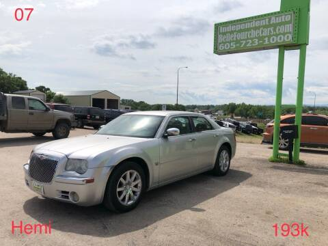 2007 Chrysler 300 for sale at Independent Auto in Belle Fourche SD