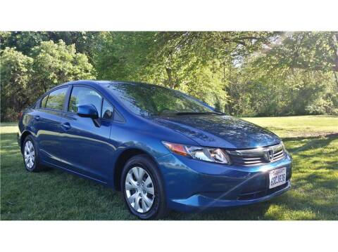 2012 Honda Civic for sale at KARS R US in Modesto CA