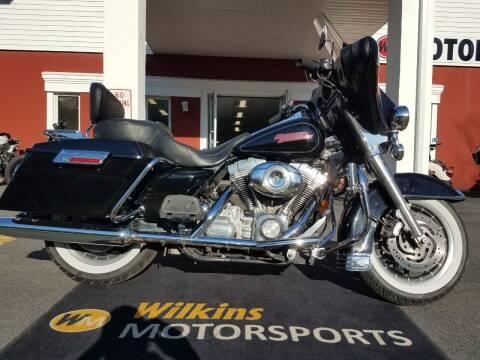 2007 Harley-Davidson Electra Glide for sale at WILKINS MOTORSPORTS in Brewster NY