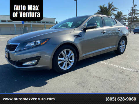2013 Kia Optima for sale at Auto Max of Ventura in Ventura CA