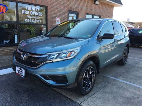 2016 Honda CR-V for sale at Bankruptcy Car Financing in Norfolk VA