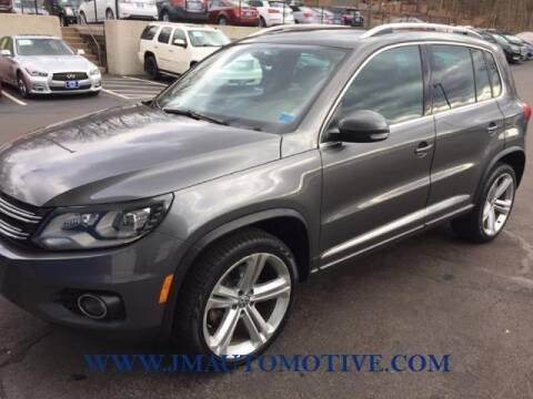 2014 Volkswagen Tiguan for sale at J & M Automotive in Naugatuck CT