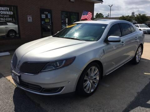 2014 Lincoln MKS for sale at Bankruptcy Car Financing in Norfolk VA