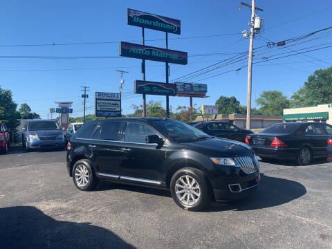 2011 Lincoln MKX for sale at Boardman Auto Mall in Boardman OH