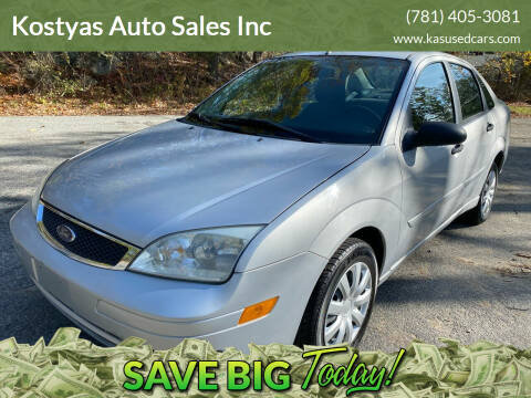 2007 Ford Focus for sale at Kostyas Auto Sales Inc in Swansea MA