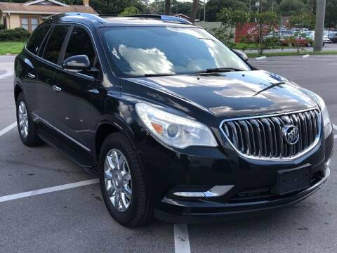 2013 Buick Enclave for sale at Consumer Auto Credit in Tampa FL