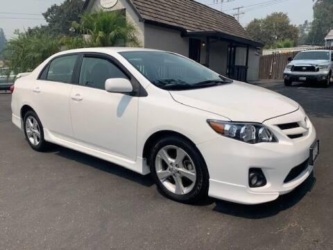 2013 Toyota Corolla for sale at Three Bridges Auto Sales in Fair Oaks CA