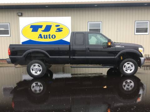 2016 Ford F-250 Super Duty for sale at TJ's Auto in Wisconsin Rapids WI