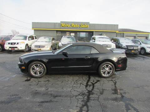 2014 Ford Mustang for sale at MIRA AUTO SALES in Cincinnati OH