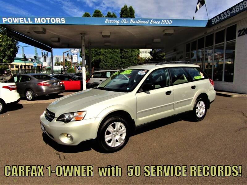 2005 Subaru Outback for sale at Powell Motors Inc in Portland OR