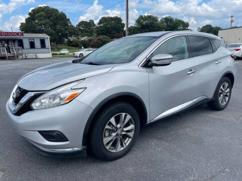 2017 Nissan Murano for sale at Modern Automotive in Boiling Springs SC
