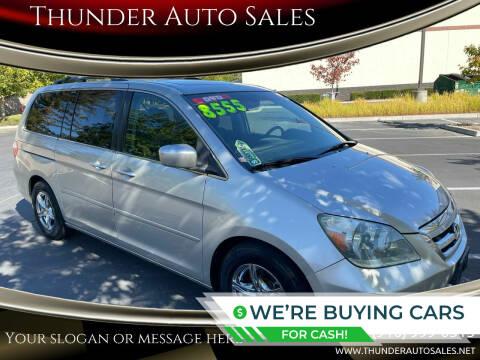 2005 Honda Odyssey for sale at Thunder Auto Sales in Sacramento CA