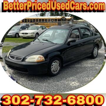 1998 Honda Civic for sale at Better Priced Used Cars in Frankford DE