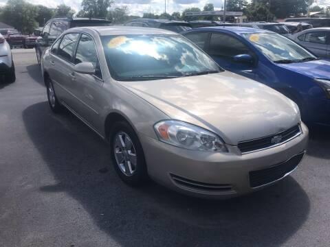 2008 Chevrolet Impala for sale at Blue Bird Motors in Crossville TN