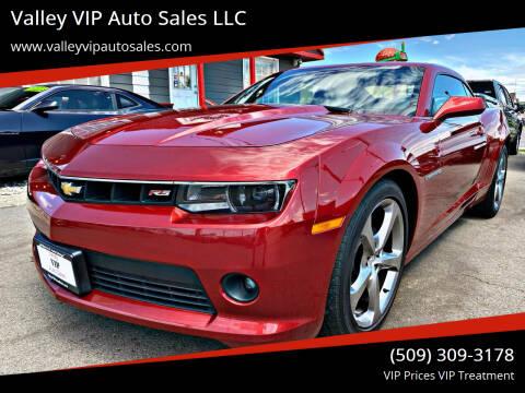 2014 Chevrolet Camaro for sale at Valley VIP Auto Sales LLC in Spokane Valley WA
