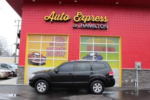 2009 Kia Borrego for sale at AUTO EXPRESS OF HAMILTON LLC in Hamilton OH