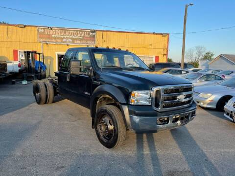 2007 Ford F-450 Super Duty for sale at Virginia Auto Mall in Woodford VA