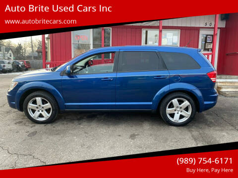 2009 Dodge Journey for sale at Auto Brite Used Cars Inc in Saginaw MI