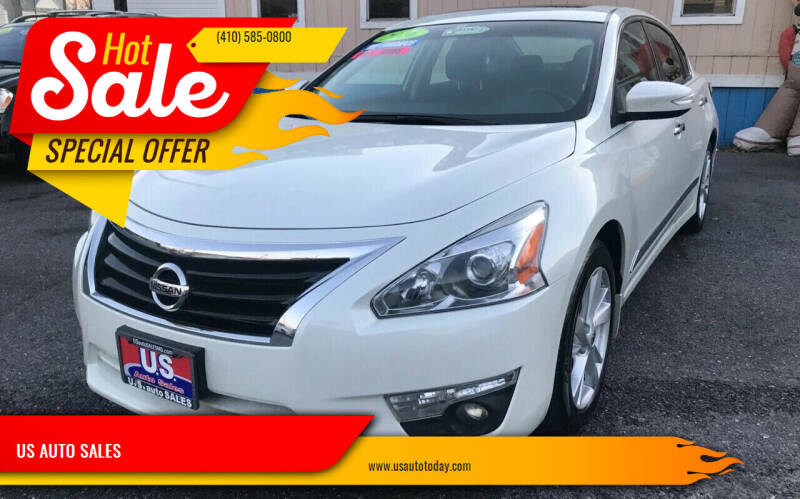 2015 Nissan Altima for sale at US AUTO SALES in Baltimore MD