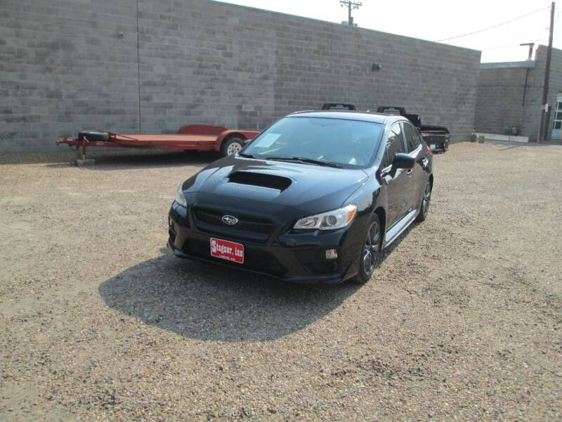 2017 Subaru WRX for sale at Stagner INC in Lamar CO