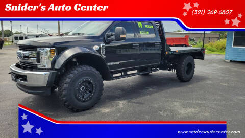 2019 Ford F-550 Super Duty for sale at Titus Trucks in Titusville FL