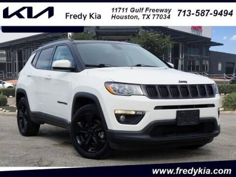 2019 Jeep Compass for sale at FREDY KIA USED CARS in Houston TX
