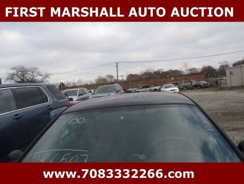 2000 Ford Mustang for sale at First Marshall Auto Auction in Harvey IL