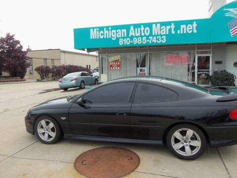 2004 Pontiac GTO for sale at Michigan Auto Mart in Port Huron MI