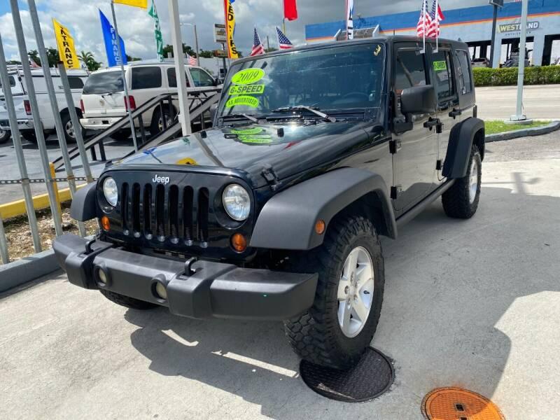 2008 Jeep Wrangler Unlimited for sale at Navarro Auto Motors in Hialeah FL