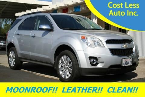 2010 Chevrolet Equinox for sale at Cost Less Auto Inc. in Rocklin CA