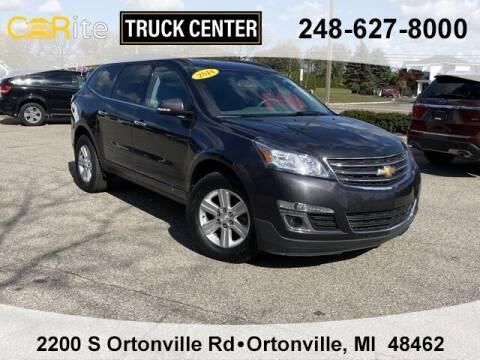 2014 Chevrolet Traverse for sale at Carite Truck Center in Ortonville MI
